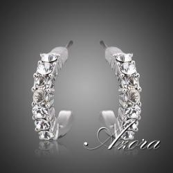 Náušnice Platinum AZORA