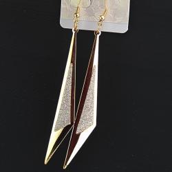 Náušnice Point Charm - Zlatá