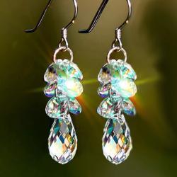 Náušnice Sparkling Crystal-Typ3