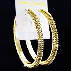 Náušnice Spirit Charm - Zlatá