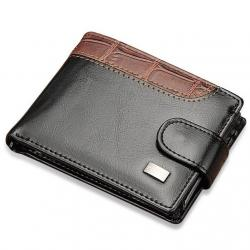 Pánska peňaženka Alex-Čierna