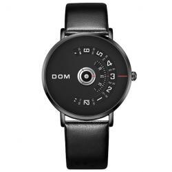 Pánske Hodinky DOM Luxury-Čierna