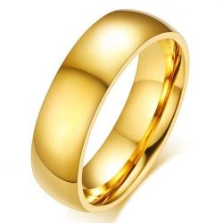 Pánsky Prsteň Boundless-Zlatá/52mm