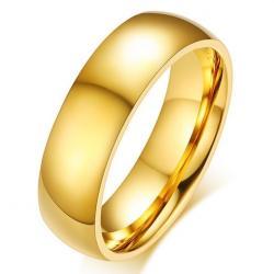 Pánsky Prsteň Boundless-Zlatá/67mm