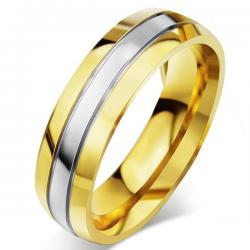 Pánsky Prsteň Fidelity-Zlatá/65mm