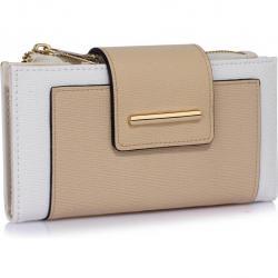 Peňaženka Anne-Hnedá/Biela