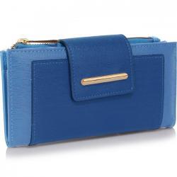 Peňaženka Anne-Modrá