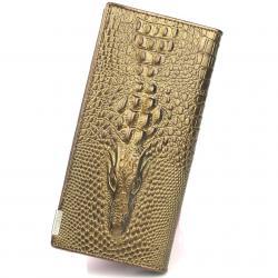Peňaženka Crocodile Lite - Zlatá