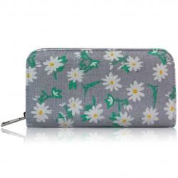 Peňaženka Daisy-Sivá