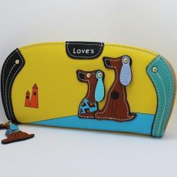 Peňaženka Dogs-Žltá
