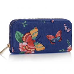 Peňaženka Emily-Modrá