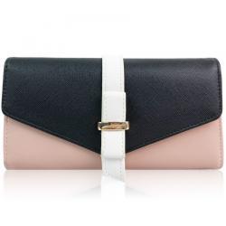 Peňaženka Farah-Čierna/Ružová