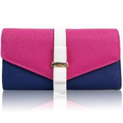 Peňaženka Farah-Ružová/Modrá