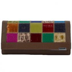 Peňaženka Fatima-Hnedá/Multi