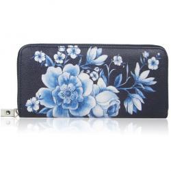 Peňaženka Inez-Čierna/Modrá