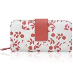 Peňaženka Jazzie-Červená/Biela