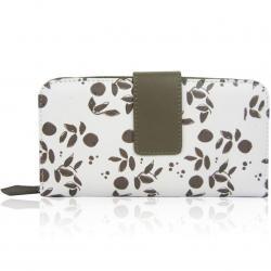 Peňaženka Jazzie-Sivá/Biela
