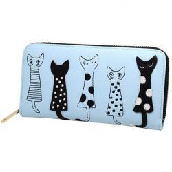 Peňaženka Kitten-Modrá