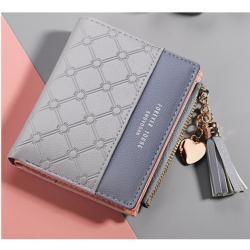Peňaženka Lara-Sivá
