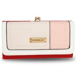 Peňaženka Leesun-Červená