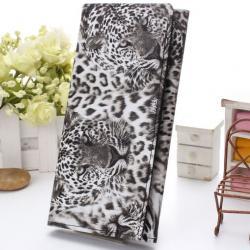 Peňaženka Leopard - Biela
