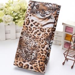 Peňaženka Leopard - Hnedá