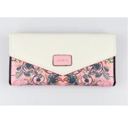 Peňaženka Love-Ružová