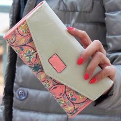 Peňaženka Loves - Ružová