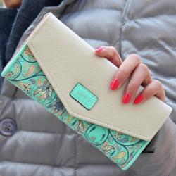Peňaženka Loves - Tyrkysová