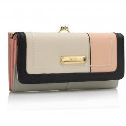 Peňaženka Maddison - Sivá/Ružová