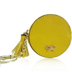 Peňaženka Mincovník Bow-Žltá