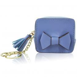 Peňaženka Mincovník Mašľa-Modrá