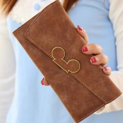 Peňaženka Myška-Hnedá