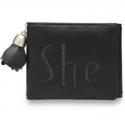 Peňaženka She-Čierna