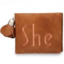 Peňaženka She-Hnedá