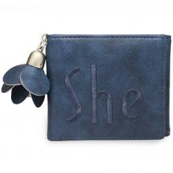 Peňaženka She-Modrá