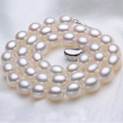 Perlový náhrdelník Lacey Majesty - Biela
