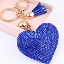 Prívesok Srdiečko-Modrá