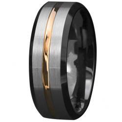 Prsteň Aron-Str./Zlatá/57mm