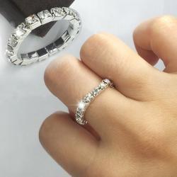 Prsteň Elastic Crystal