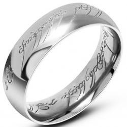 Prsteň Frodo-Strieborná/67mm