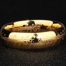 Prsteň Frodo-Zlatá/57mm