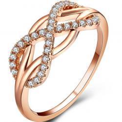 Prsteň Infini-Zlatá/54,4mm
