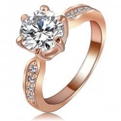 Prsteň Kate Princess-Zlatá/ 57mm