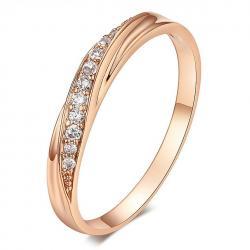 Prsteň Lilien-Zlatá/59mm