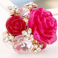Prsteň Lill-Ružová