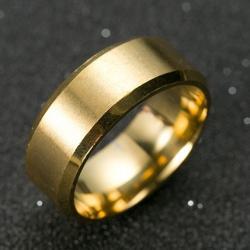 Prsteň Manlike-Zlatá/67mm