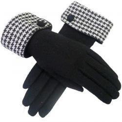Rukavice Sasha-Čierna/Biela