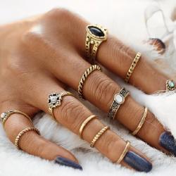 Sada prstienkov Greece-Zlatá