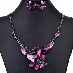 Set Flowers Consort-Ružová